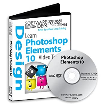 Software Video Learn Adobe Photoshop Elements 10 Training DVD Christmas Holiday Sale 60% Off training video tutorials DVD