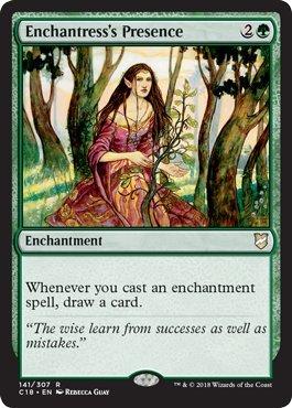 Magic: The Gathering - Enchantress's Presence - Commander 2018