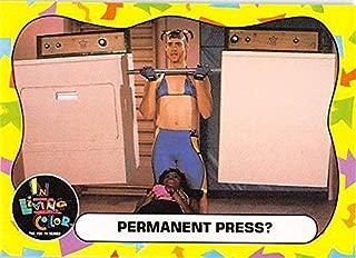 Jim Carrey trading Card (In Living Color, Body Builder Vera DeMilo) 1992 Fox #18