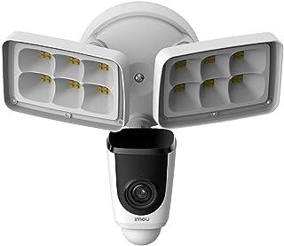 Imou Outdoor Flood Light Wi-Fi Security Camera, 2MP 1080P Pan/Tilt Dome Camera, Home Surveillance Camera with Human Detect...