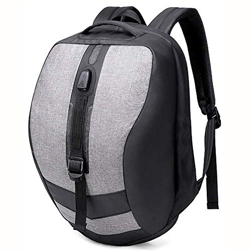 Wdonddonbb 15,6 Pollici Laptop Zaino Scuola di Business Notebook Zaino Casual con Porta USB di Ricarica, Grande Sacchetto di Scuola all aperto Tutti i Giorni for Gli Studenti Adolescent Bag