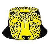 Gorras Cheetah Face Tiger Head Panthera Front Fisherman 's Hat Ladies Girls Verano Hombres Mujeres Gorra de Sol Pesca Fisher Beach Gorra para Exteriores