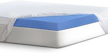"Serta 4"" Lasting Dream Ultra Gel-Infused Memory Foam Mattress Topper, Queen"