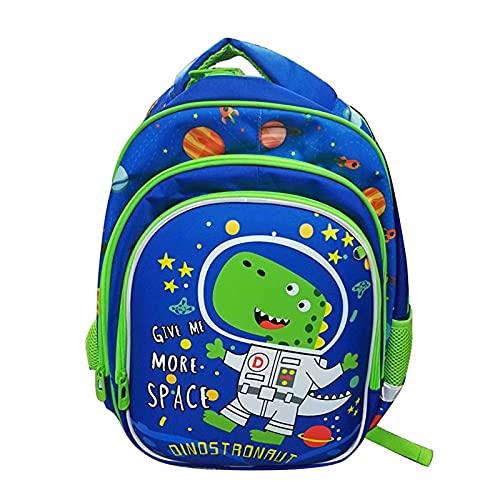 Kids Backpack Primary School Bags for Boys Girls Children Rucksacks Teenagers Bookbag Dinosaur Casual Daypack Students Lightweight Travel Laptop Satchel