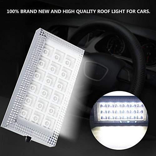 YCAZSH LED Werklamp, 12 v 18 Auto Dak Plafond Interieur Lamp Wit Met Aan/Uit Schakelaar Voor Auto's, Dak Licht, Compartiment Licht, Verlichting Schakelaar