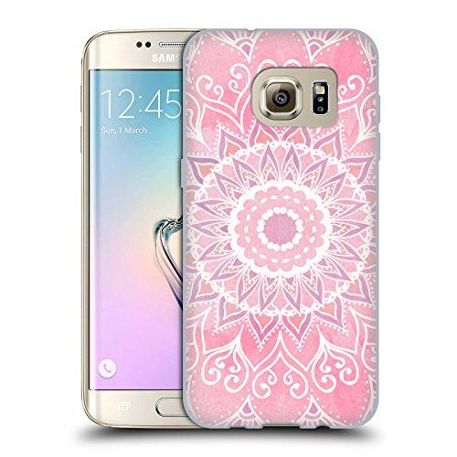 Head Case Designs Licenza Ufficiale Nika Martinez Caramelle Mandala Cover in Morbido Gel Compatibile con Samsung Galaxy S7 Edge