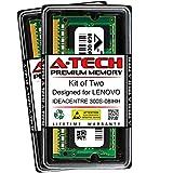 A-Tech 16GB (2 x 8GB) RAM for Lenovo IDEACENTRE 300S-08IHH   DDR3 1600MHz SODIMM PC3-12800 204-Pin Non-ECC Memory Upgrade Kit