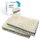 HQRP 2-Pack Humidifier Wick Filter Compatible with IDYLIS 828413B002 Replacement fits IHUM-10-140 / I HUM 10 140 4-Gallon Whole-House Humidifier