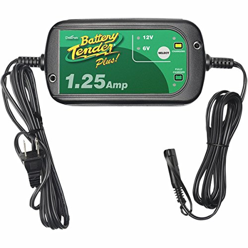 Battery Tender 0220211DLWH 1.25 Amp Selectable Charger