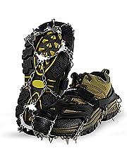 Unigear klimijzers voor bergschoenen, schoenklauwen, ijsspikes, sneeuwkettingen, groeten en spikes voor klimmen, bergbeklimmen, trekking hoog, Altitude Winter Outdoor