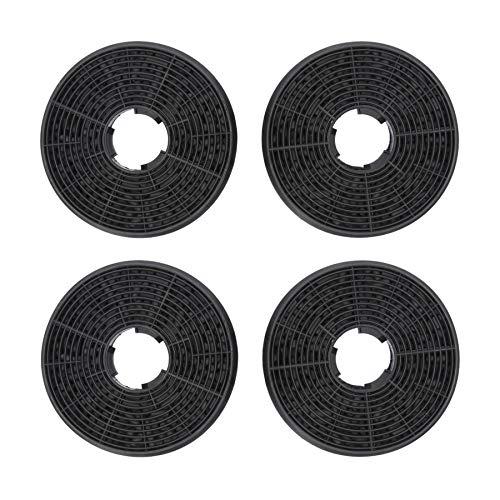 4 x DL-pro Kohlefilter Aktivkohlefilter für Respekta MIZ0058 MIZ 0058 PKM CF130 Candy 49040890 35602288 Dunstabzugshaube