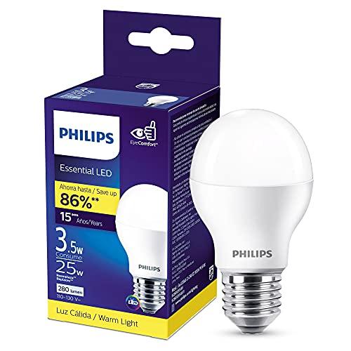 Philips Foco LED luz cálida A19 3.5W