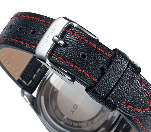 Viceroy Jungen Analog Quarz Uhr mit Leder Armband 40449-94