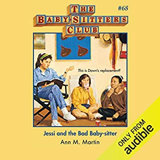 Jessi and the Bad Baby-Sitter audiobook cover art