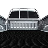 Resilia Truck Bed Mat Liner – Universal Size, Durable Heavy-Duty All-Weather Protection for Your Truck, Cargo Van, or SUV, Pickup Accessories, Trim to Fit, Black, Thick 4 Foot x 6 Foot