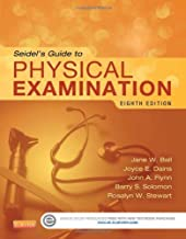 Seidel's Guide to Physical Examination, 8e by Ball RN DrPH CPNP DPNAP, Jane W., Dains DrPH JD RN FNP [Mosby, 2014] (Hardcover) 8th Edition [Hardcover]