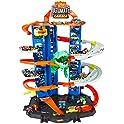 Hot Wheels City Robo T-Rex Multi-Level Ultimate Garage