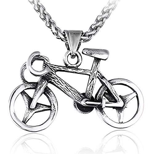 Anhänger Halskette Schmuck Edelstahl Halskette Für Frauen Mann Classic Fahrrad Choker Anhänger Halskette Verlobung Schmuck Geschenk