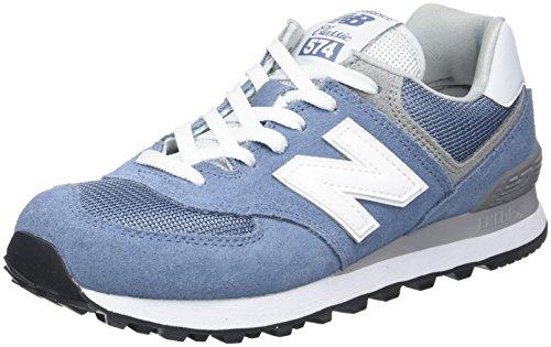 New Balance 574, Zapatillas Deportivas Mujer, Azul