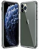 Aclouddate Coque de protection en silicone TPU transparent pour iPhone 11 Pro Transparent