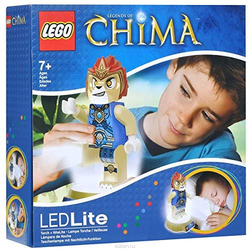LEGO Chima Laval der Löwe als Taschenlampe und Nachtlicht LED Light mit Timer