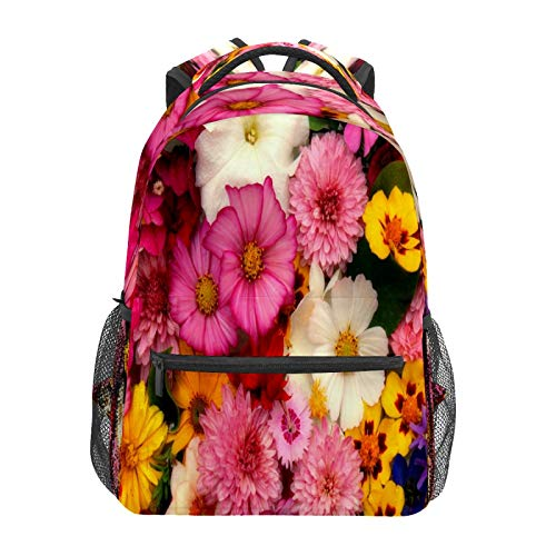 Business Laptop Backpack Travel Hiking Camping Daypack Flower Garden College Bookbag Large Diaper Bag Doctor Bag School Backpack Water Resistant Anti-Theft for Women&Men