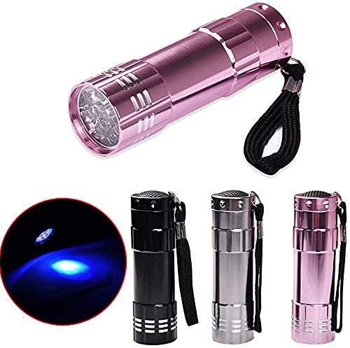 AOOF Mini LED UV Gel Curado Lámpara Luz Profesional Secador Rápido Cura Uñas Linterna