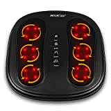 CINCOM Shiatsu Foot Massager with Heat, Deep Kneading Rotating Heads & Soothing Heat with 2 Speed & 2 Modes Helpful for...