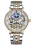 Reloj de Acero Inoxidable de Pulsera Mecánico Automático para...