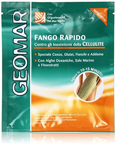 Geomar - Fango Rapido Monodose, contro gli Inestetismi della Cellulite - 80 ml