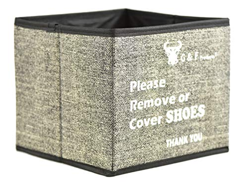 Shoe Covers Box, Foldable Collapsible Shoe...
