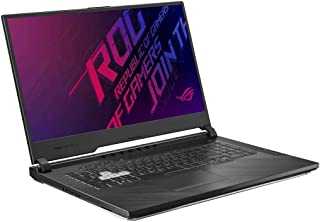 Asus ROG STRIX G G731GT-AU011T-STRIX G Gaming Laptop (Black) - Intel i7-9750H 2.6 GHz, 16 GB RAM, 512 GB SSD, Nvidia GeForce GTX 1650, 17.3 inches,Windows 10, Eng-Arb-KB