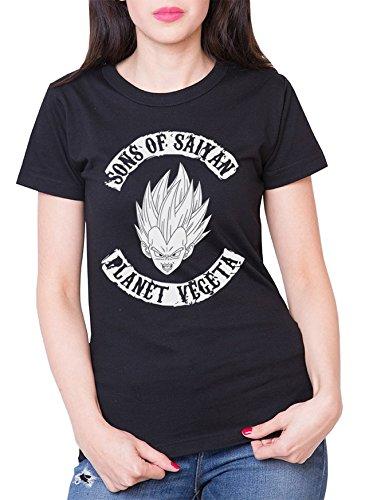 Sambosa - T-Shirt - Femme - Noir - XXL