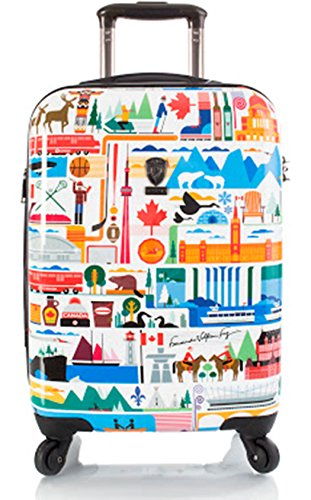 Koffer, Reisegepäck, Trolley by Heys - Premium Designer Hartschalen Koffer - Künstler Fernando Kanada Handgepäck