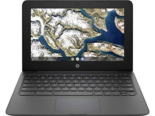 HP Chromebook 11a-nb0000ns - Ordenador portátil de 11.6' HD (Intel Celeron N3350, 4GB RAM, 32GB eMMC, Intel HD Graphics, sistema operativo Chrome OS) Gris ceniza - Teclado QWERTY Español