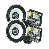 Bassface SPL6C.2 900w 6.5' Inch 16.5cm Car Door Component Speaker & Tweeter Kit