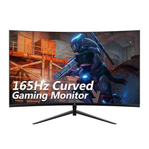 Z-Edge UG24 24-inch Curved Gaming Monitor 165Hz Refresh Rate, 1ms MPRT, FHD 1080 Gaming Monitor, R1650 Curved, AMD Freesync Premium Display