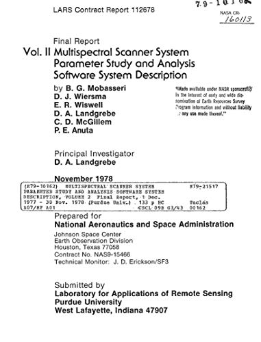 Multispectral scanner system parameter study and analysis software system description, volume 2 (English Edition)