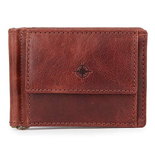 EASTLINE Accessoires Geldboersen Dollarclip 0674-02 braun 105959