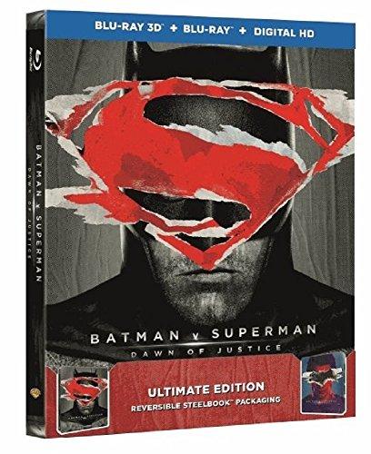 Batman v Superman: Dawn of Justice Steelbook – Ultimate Edition (exklusiv bei Amazon.de) [3D Blu-ray] [Limited Edition]