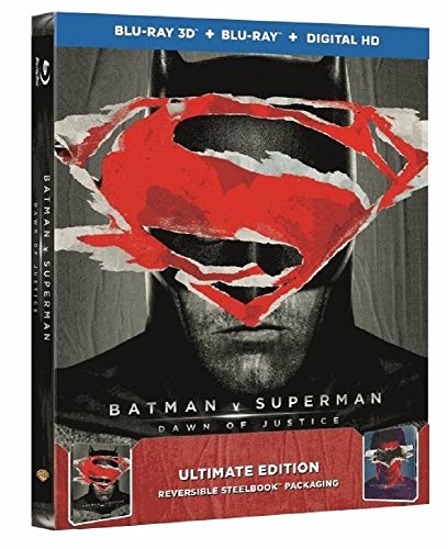 Batman v Superman: Dawn of Justice Steelbook – Ultimate Edition (exklusiv bei Amazon.de) [3D Blu-ray] [Limited Edition]