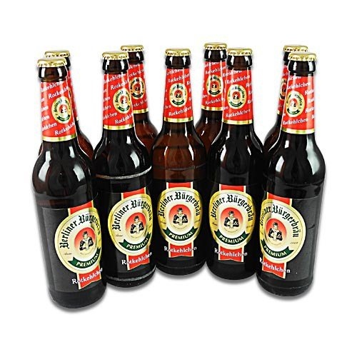 Berliner Bürgerbräu - Rotkehlchen (9 Flaschen à 0,5 l / 5,3% vol.)