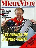 MIEUX VIVRE [No 67] du 01/02/1985 - CHOISIR SA VALISE - ROBECO A L'EPREUVE - LES...