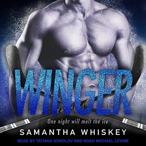 Winger audiobook cover art