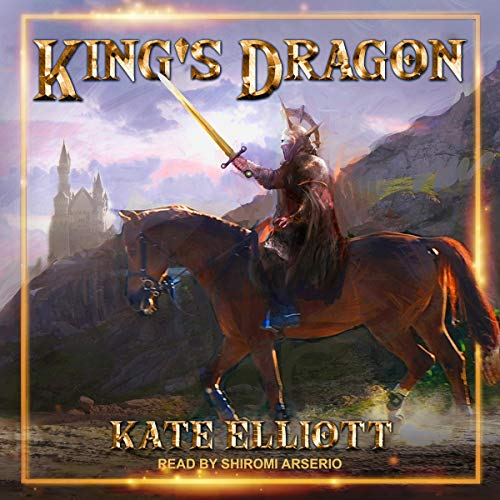 King's Dragon audiobook cover art