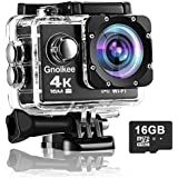 TEC.BEAN Action Camera 4K 16MP WiFi Underwater...