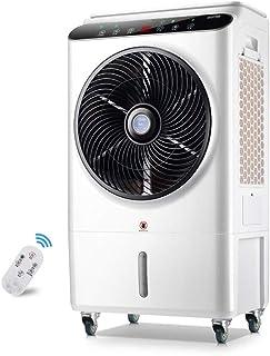 Aire acondicionado móvil XIAOYAN Ventilador Control Remoto y Pantalla LED, Ventilador de refrigeración Industrial para el Negocio en casa - 105W 8000 m³ / h