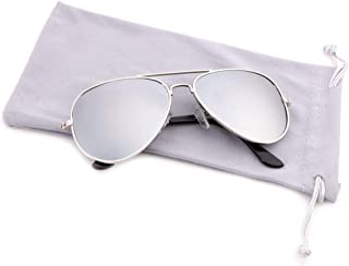 Creamily Kids Aviator Sunglasses UV Protection Glasses...