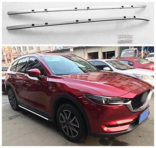 YIJIAREN Personalizado Barras Laterales de rieles de Techo para Mazda CX-5 Cx5 2017 2018 2019 2020 aleación de Aluminio Rieles Cruzados Barra Transversal