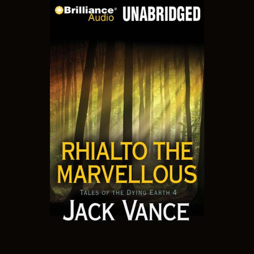 Rhialto the Marvellous audiobook cover art